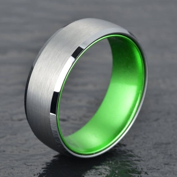 like this item - Green Wedding Rings