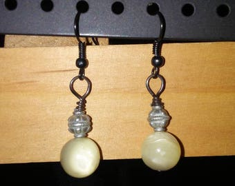 Steampunk Street Light Earrings