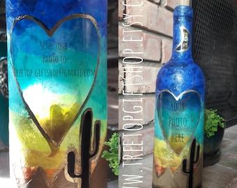 Desert sky bottle