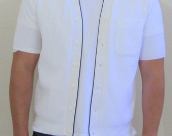 Awesome Vintage Men's Shirt by Knitmaster California