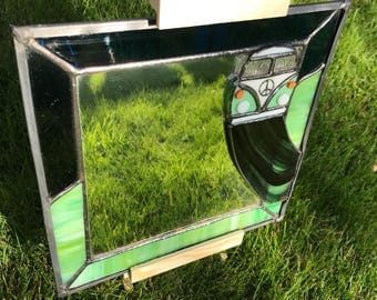 Stained Glass VW Mirror