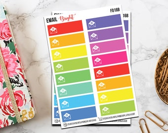 f016 | Email // Functional Planner Sticker