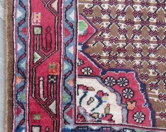 Fay - Vintage Persian Bijar Carpet