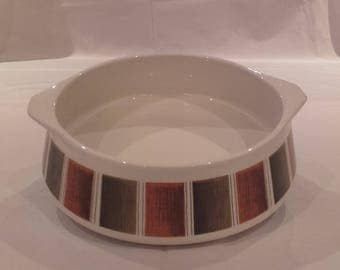 Lord Nelson Pottery Mid-century Tureen/Serving Dish