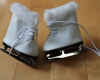 American Girl White Ice Skates
