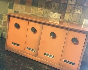 Vintage Krestline Canister Set