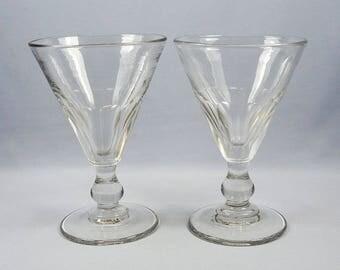 Antique Pair of Rummers