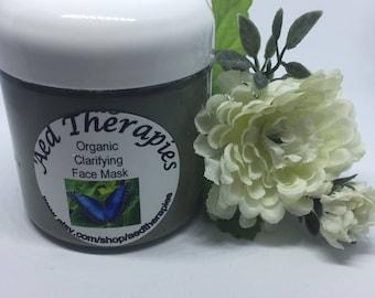 Organic Clarifying European Green Clay Mask