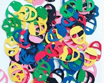 Power ranger confetti