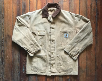 1980's Medium Duck Canvad Chore Jacket by Carhartt