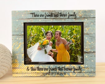 Gift for Sister In Law Wedding Thank You Gift Maid of Honor Gift Bridesmaids Gift. Sister in law Frame. Bridesmaid Thank you Frame