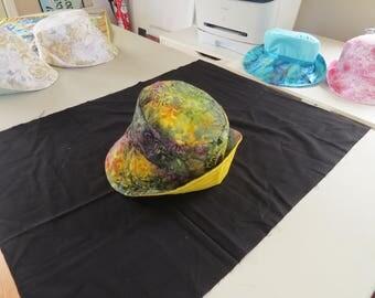 Batik summer hat