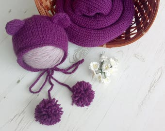 Baby stretch knit wrap set,Knitted wrap,Baby wrap set,Newborn stretch wrap,Knit wrap,Photography prop,Stretch knit wrap,Bbay girl wrap,RTS