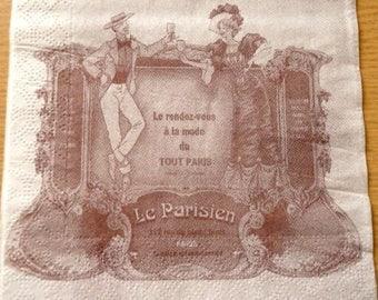 """""""Le Parisien"""" paper towel"""