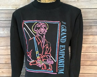 Vintage The Grand Emporium Blues Club Long Sleeve T-Shirt (XL)