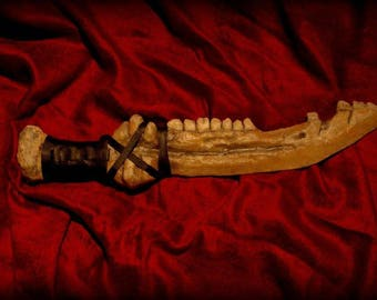 A printed blade inspired by the TV series Supernatural - Based on the story of how Cain slew his brother Abel