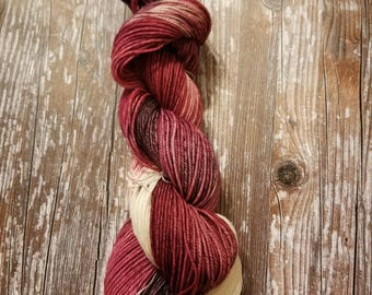 100% superwash merino   100g 256 yards dk weight  Hand dyed yarn indie dyed yarn