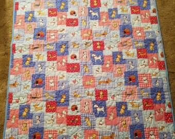 Puppy Baby Quilt 51x38