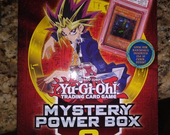 Yugioh shonen jump mystery power box