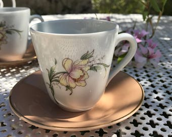 For her coffee cups.                                           Homemade gift idea.