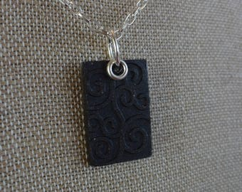Eastern Russia Black Sand Necklace