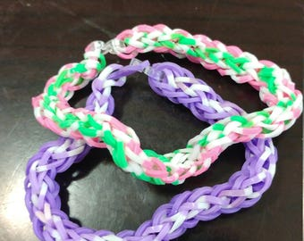 2 color band bracelet