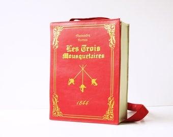 Les Trois Mousquetaires Book Purse Alexandre Dumas Book Bag