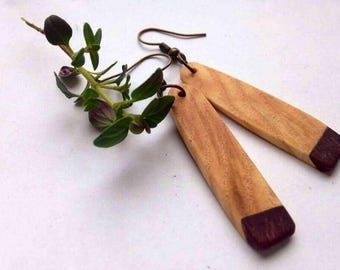 Handcrafted Wooden Earrings