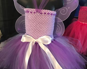 Purple Fairy Princess 2T- 5T