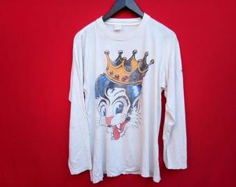 vintage Stray cat blast off tour 1989 xlarge mens t shirt