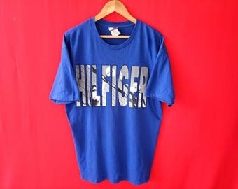 vintage tommy hilfiger medium mens size t shirt
