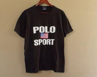 vintage 90 polo sport tshirt