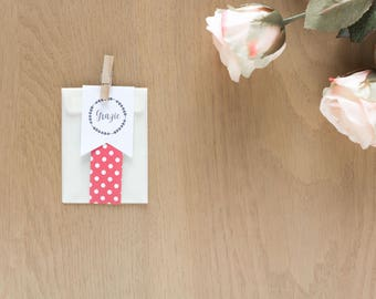 Kit 10 confection bags + tags