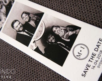 photo booth save the dates