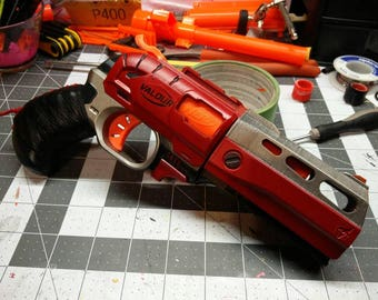 The Bloody Doublestrike Modified Nerf Blaster