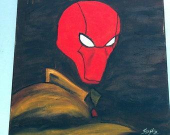 Red Hood by Sprytz Batman Robin Jason Todd dc comics dccomics redhoodrobin batmanandrobin Kasprytzkiart