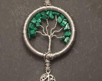 Green Crystal Tree of Life