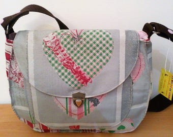 Large fancy canvas tote bag