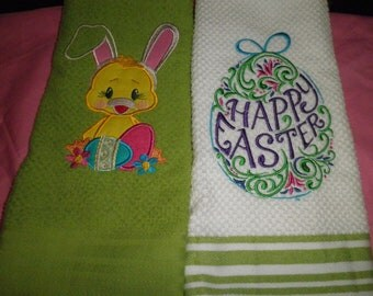 Easter Hand Towel Set of 2