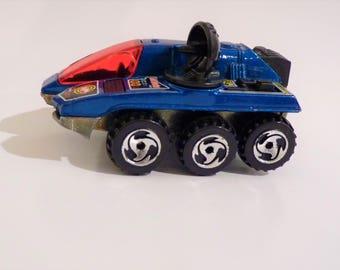 "Mattel Hot Wheels c1988 ""Radar Ranger Alien Detector"" Mobile Radar Unit, Bonus ""Mystery"" Vintage die-cast included!"
