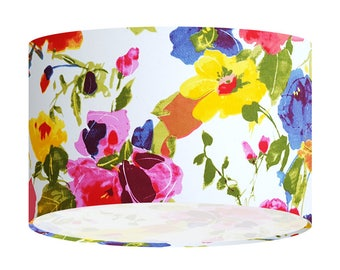 Flower Handmade Lampshade, Ceiling Lampshade, Table Floor Shade, Gift For Her, Home Gift, Lighting, Home Decor, 20 30 40cm