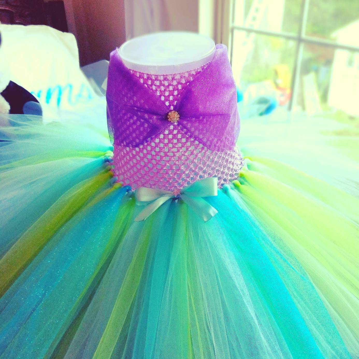 Mermaid dress disney princess dress baby girl costume mermaid