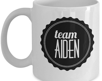 Team Aiden Coffee Mug - Cup - Gilmore Girls Gifts