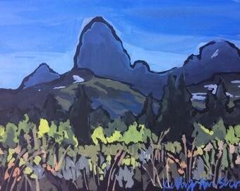 Grand Teton Painting