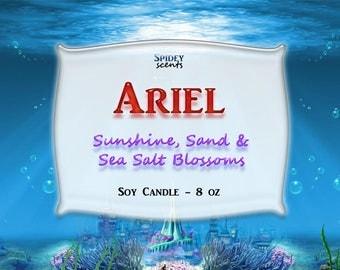 Ariel - 8 oz 100% Soy Candle