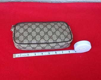 Authentic Vintage Gucci Make Case/Clutch
