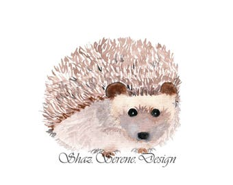 Cute Hedgehog Card - A6