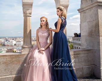 Budapest- Evening dress V-041