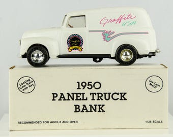 Ertl 1950 Panel Truck Diecast Bank 1/25 Scale Graffiti USA - The Cruise 92