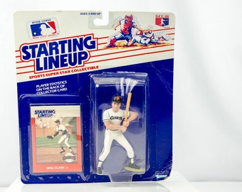 Starting Lineup 1988 Will Clark Action Figure San Francisco Giants